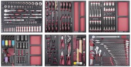 Conjunto de ferramentas COMPLETO EVA, 276 pcs