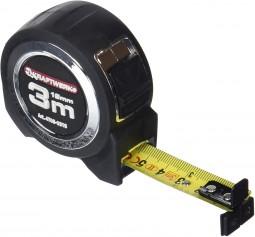 Fita métrica profissional, 3 m x 19 mm